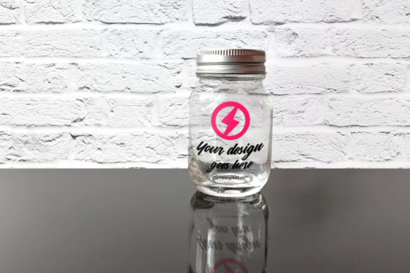 Glass Canning Jar Product Mockkup Graphic Product Mockups By RisaRocksIt - Image 3