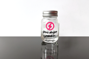 Glass Canning Jar Product Mockkup Graphic By RisaRocksIt