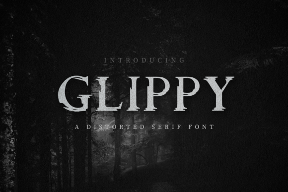Print on Demand: Glippy Sans Serif Font By peterdraw - Image 1