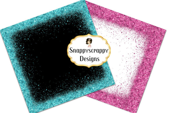 Glitter Borders Graphic Backgrounds By Snappyscrappy - Image 4