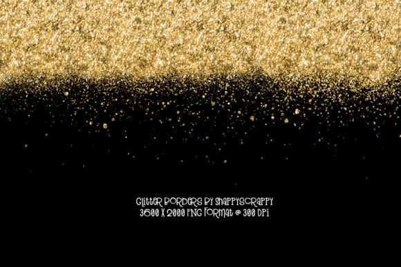 Glitter Borders Graphic Backgrounds By Snappyscrappy - Image 5