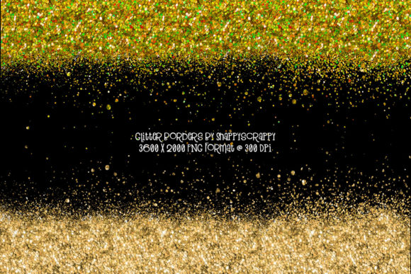 Glitter Borders Graphic Backgrounds By Snappyscrappy - Image 6