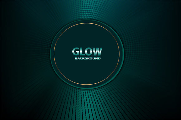 Print on Demand: Glow Background Graphic Backgrounds By imammuslim835