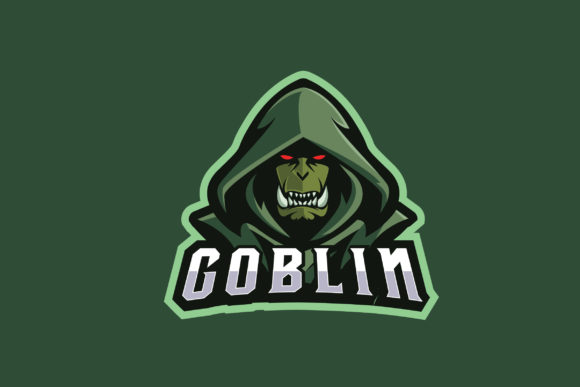 Print on Demand: Goblin E-Sports Logo Graphic Logos By ovoz.graphics