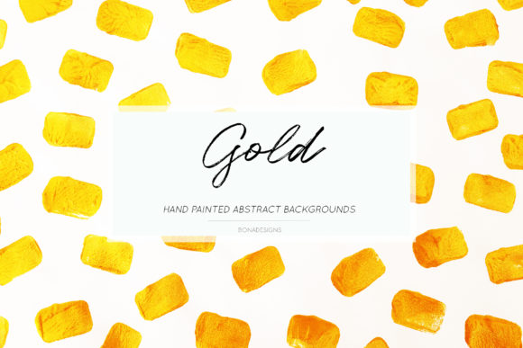 Gold Abstract Backgrounds Graphic By damlaakderes