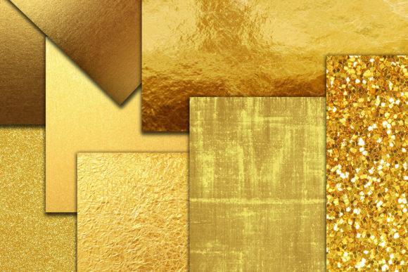 Download Free Gold Foil Digital Paper Gold A4 Papers Graphic By Chilipapers for Cricut Explore, Silhouette and other cutting machines.