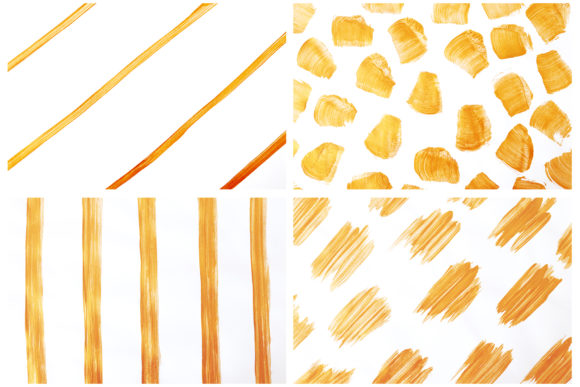 Gold White Abstract Backgrounds Graphic By Bonadesigns