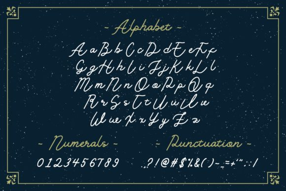 Print on Demand: Golden Slayer Script & Handwritten Font By ZHR Creative - Image 2