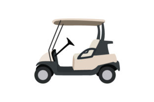 Golf Cart Sports Craft Cut File By Creative Fabrica Crafts