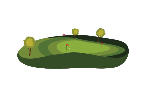 Download Free Golf Green Svg Cut File By Creative Fabrica Crafts Creative for Cricut Explore, Silhouette and other cutting machines.
