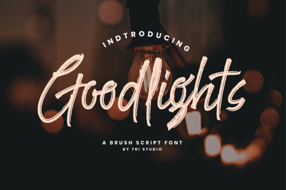 Print on Demand: Goodlights Script & Handwritten Font By Ahgo Studio