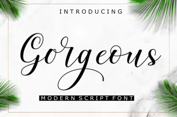 Print on Demand: Gorgeous Script & Handwritten Font By ayeelastudio