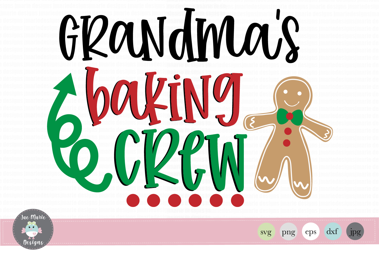 Download Free Grandma S Baking Crew Graphic By Thejaemarie Creative Fabrica for Cricut Explore, Silhouette and other cutting machines.