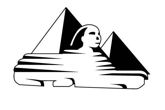 Great Pyramid of Giza with Sphynx Craft Design By Creative Fabrica Crafts Image 2