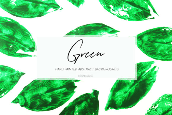 Green Abstract Graphic By damlaakderes
