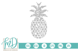 Download Free Grunge Pineapple Svg Graphic By Morgan Day Designs Creative for Cricut Explore, Silhouette and other cutting machines.