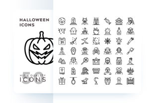 HALLOWEEN ICON Graphic By Goodware.Std