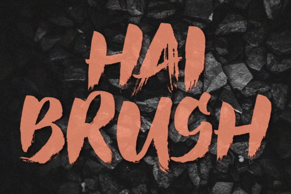 Hai Brush Font By sabrcreative Image 1
