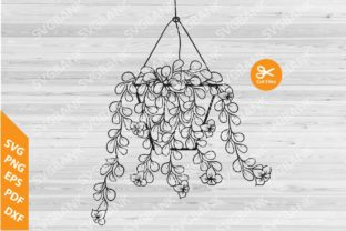 Hanging Plant Graphic By svgBank