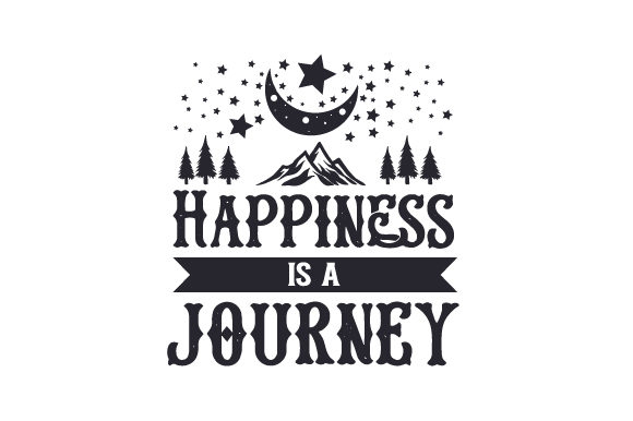 Happiness is a Journey Craft Design By Creative Fabrica Crafts Image 1