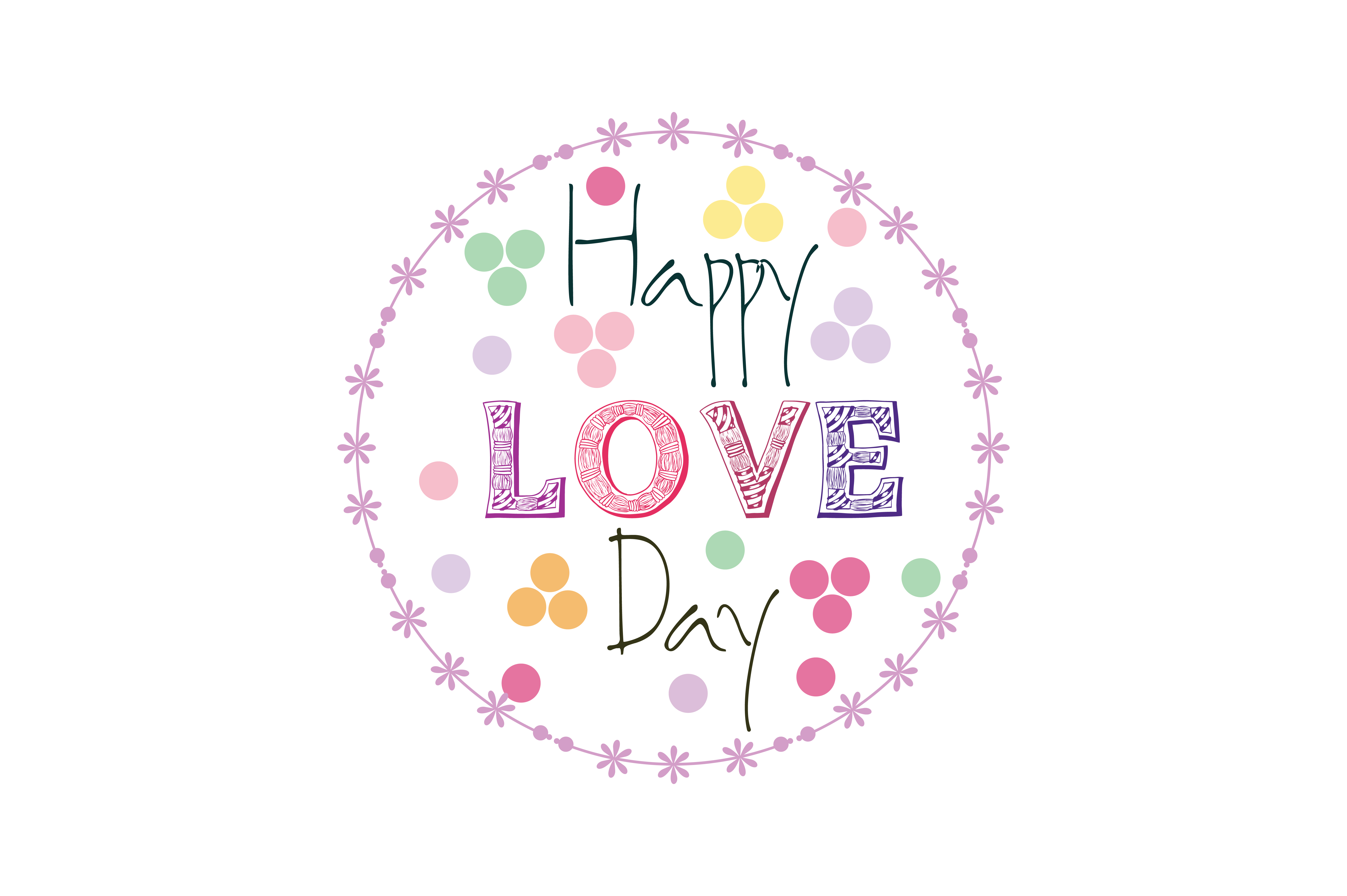Download Free Happy Love Day Quote Svg Cut Graphic By Yuhana Purwanti for Cricut Explore, Silhouette and other cutting machines.