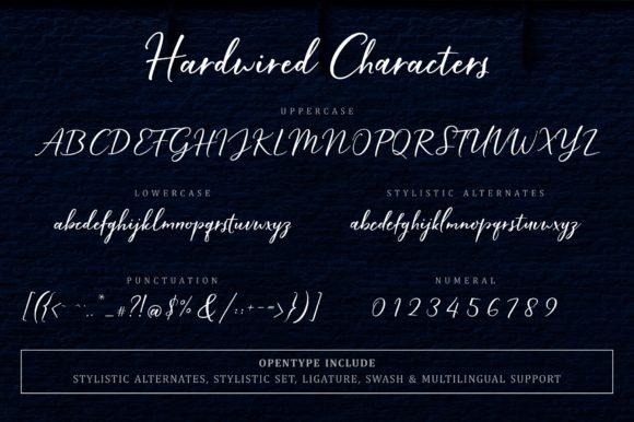 Hardwired Font By FadeLine Image 12