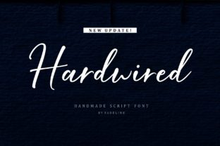 Hardwired Font By FadeLine