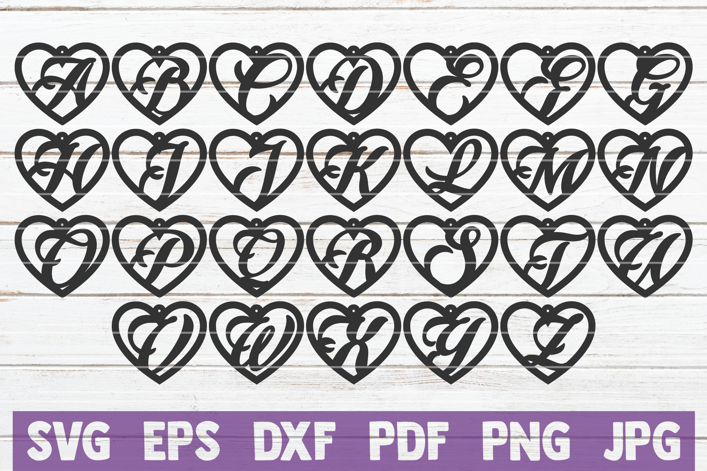 Download Free Heart Alphabet Earrings Svg Bundle Graphic By Mintymarshmallows for Cricut Explore, Silhouette and other cutting machines.