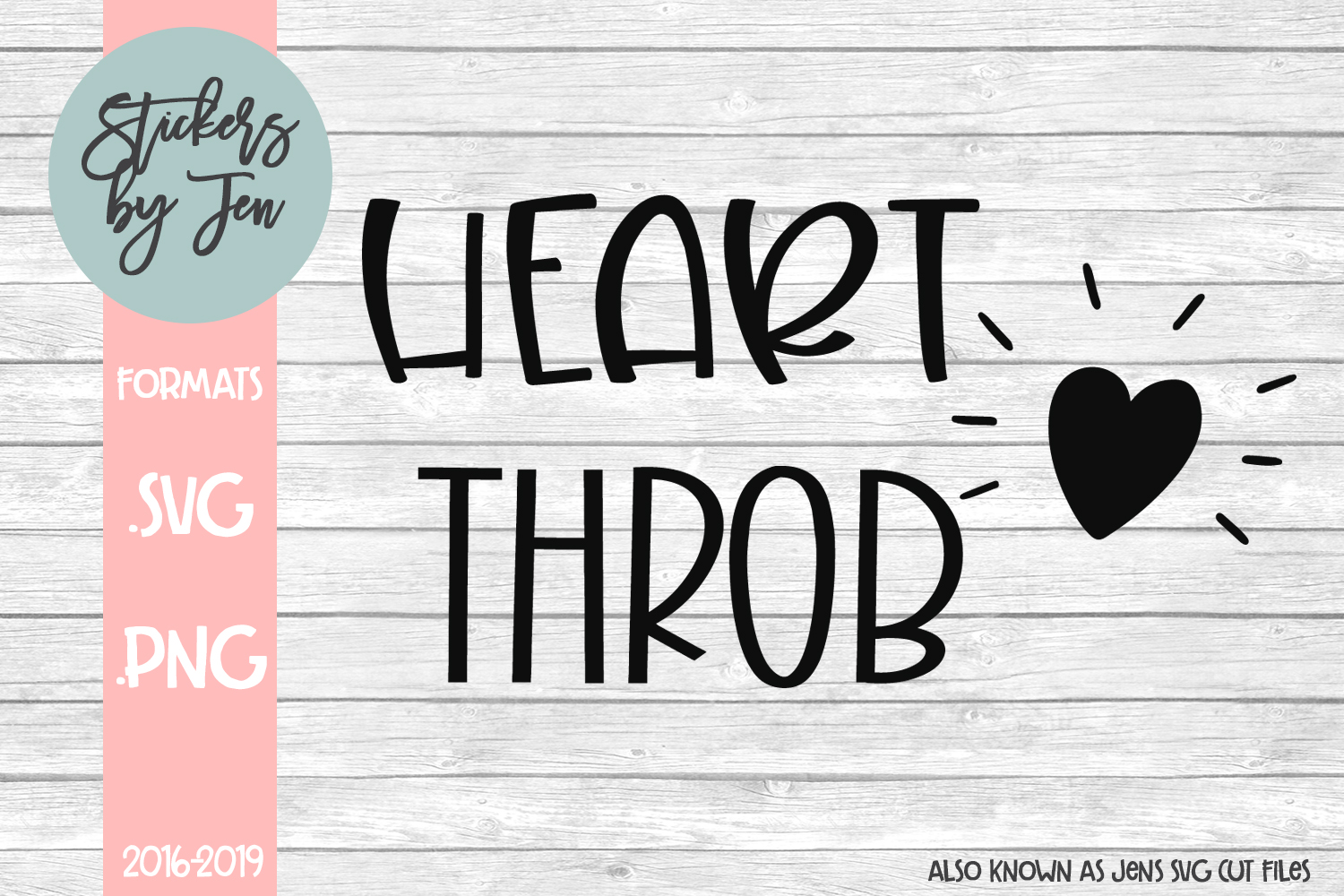 Download Free Heartthrob Graphic By Stickers By Jennifer Creative Fabrica for Cricut Explore, Silhouette and other cutting machines.