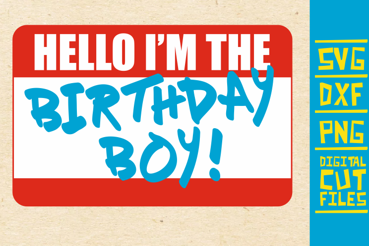 Download Free Hello I M Birthday Boy Svg Black Man Graphic By Svgyeahyouknowme Creative Fabrica for Cricut Explore, Silhouette and other cutting machines.