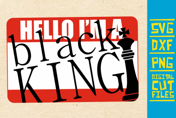 Download Free Hello I M Black King Svg Afro Man Graphic By Svgyeahyouknowme for Cricut Explore, Silhouette and other cutting machines.