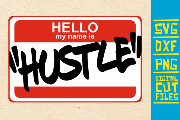 Download Free Hello I M Hustle Graffiti Svg African Graphic By for Cricut Explore, Silhouette and other cutting machines.