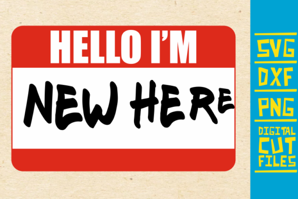 Download Free Hello I M New Here Svg Black Woman Name Graphic By for Cricut Explore, Silhouette and other cutting machines.