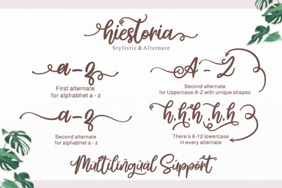Print on Demand: Hiestoria Script & Handwritten Font By Askmewhy - Image 2