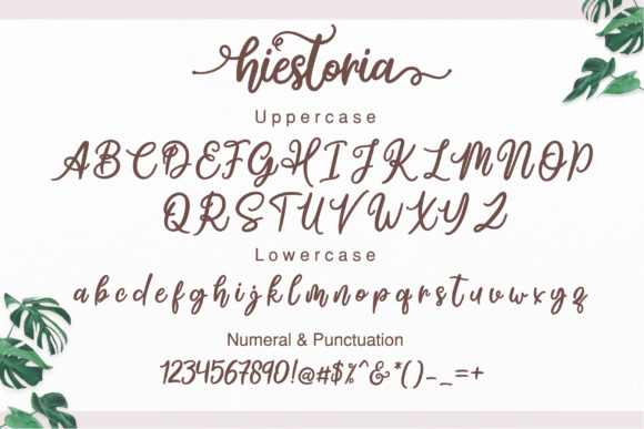 Print on Demand: Hiestoria Script & Handwritten Font By Askmewhy - Image 4