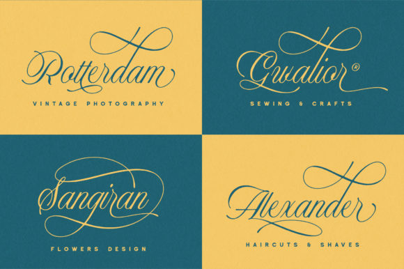 Historical Duo Font By Runsell Graphic Image 5