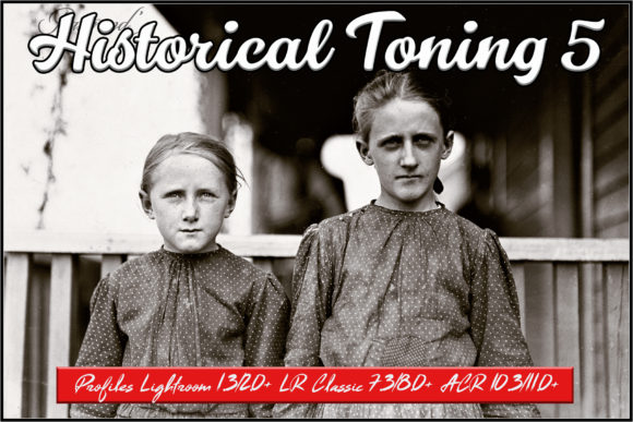Historical Toning V Profiles Graphic Actions & Presets By Raztrend