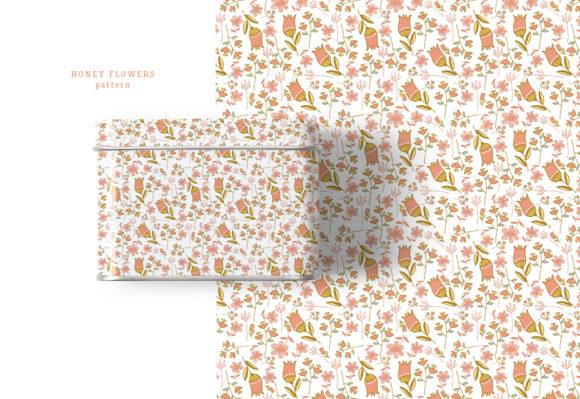 Honey Flowers Graphic Illustrations By webvilla - Image 3
