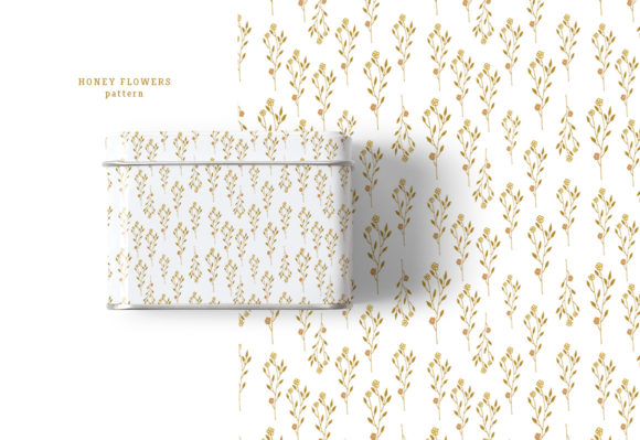 Honey Flowers Graphic Illustrations By webvilla - Image 4