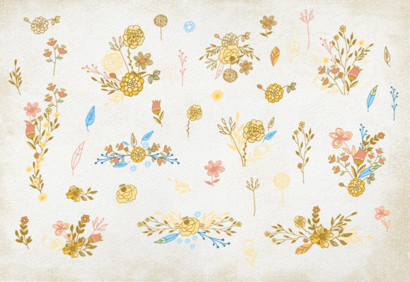 Honey Flowers Graphic Illustrations By webvilla - Image 5