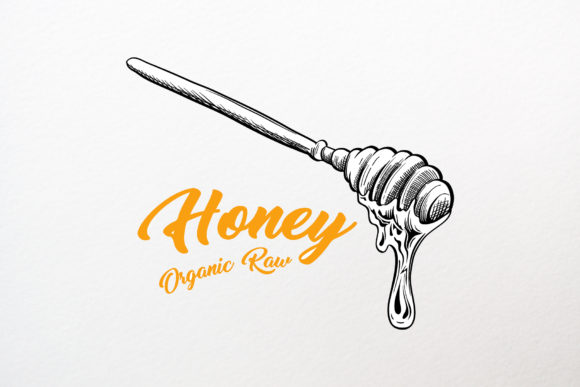 Honey Sketches Vector Drawings Graphic Illustrations By ilonitta.r - Image 3
