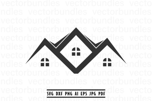 Download Free House Graphic By Vectorbundles Creative Fabrica for Cricut Explore, Silhouette and other cutting machines.