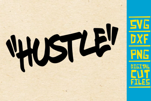 Download Free Hustle Graffiti Black Women Africa Graphic By Svgyeahyouknowme for Cricut Explore, Silhouette and other cutting machines.