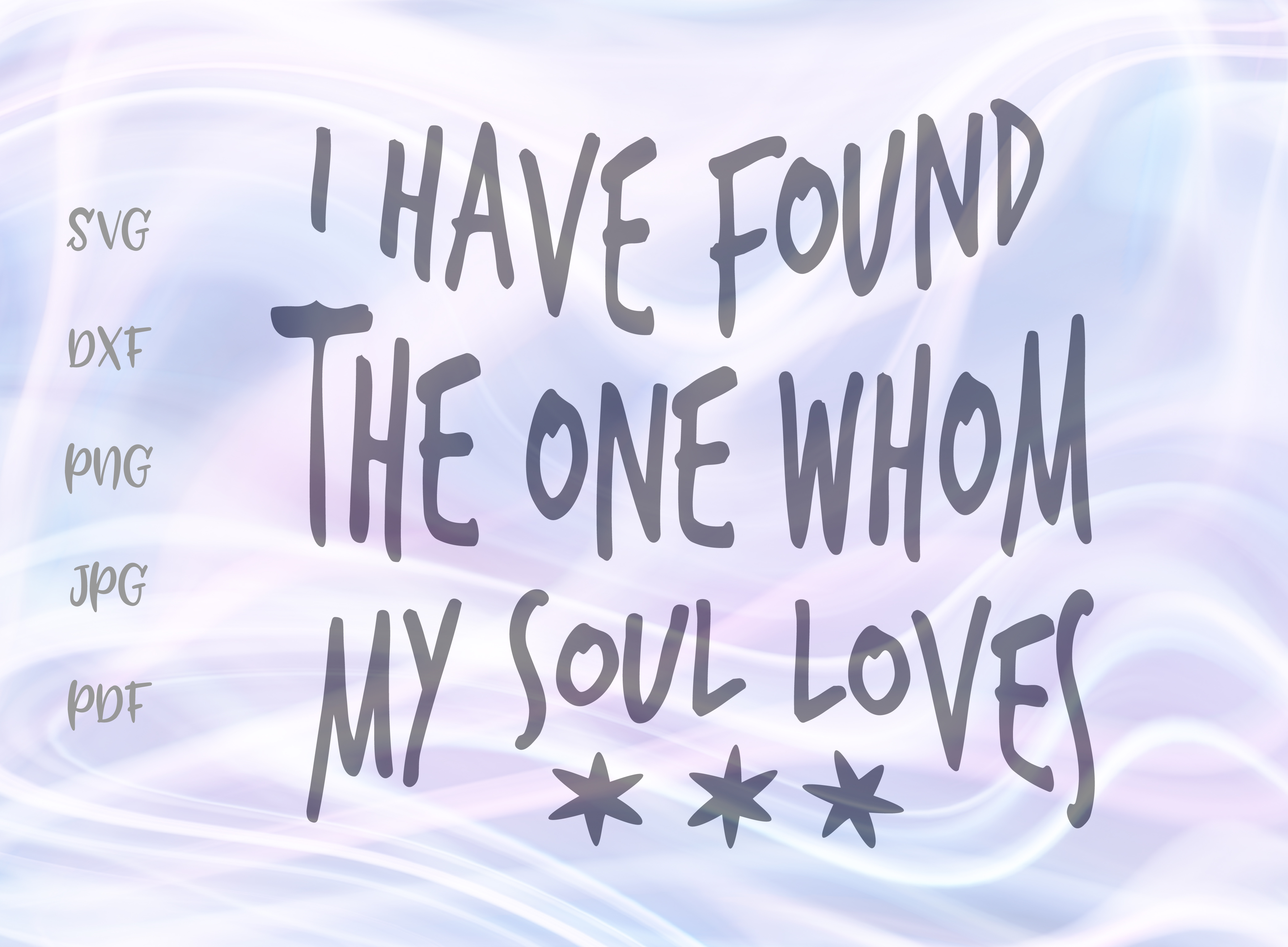 Download Free I Have Found The One Whom My Soul Loves Graphic By Digitals By SVG Cut Files