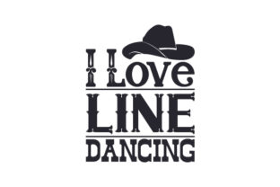 I Love Line Dancing Craft Design By Creative Fabrica Crafts