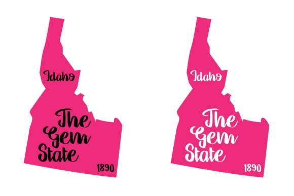 Download Free Idaho State Nickname Svg Png Eps Graphic By Studio 26 Design for Cricut Explore, Silhouette and other cutting machines.