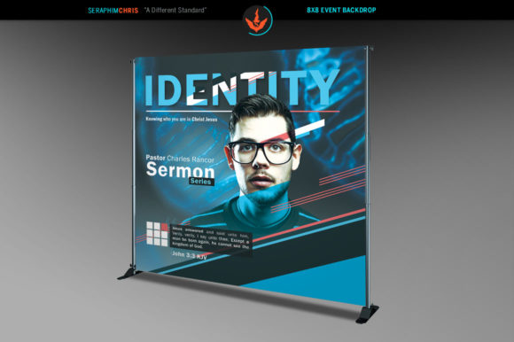 Download Free Identity 8x8 Backdrop Template Graphic By Seraphimchris for Cricut Explore, Silhouette and other cutting machines.