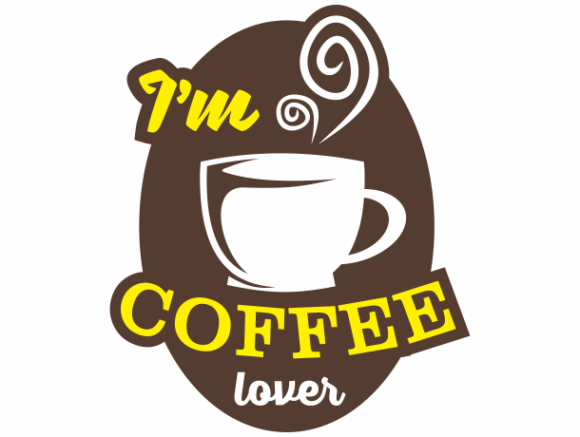 Download Free I M Coffee Lover Graphic By Visualide Creative Fabrica for Cricut Explore, Silhouette and other cutting machines.