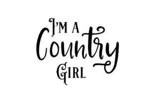 I'm a Country Girl Cowgirl Craft Cut File By Creative Fabrica Crafts 2