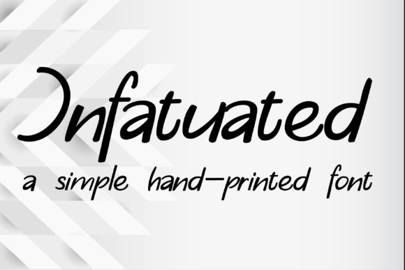 Print on Demand: Infatuated Script & Handwritten Font By Illustration Ink